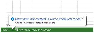 Auto schedule mode