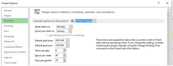 ms-project-scheduling